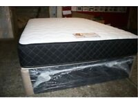 SPECIAL DOUBLE MEMORY FOAM BED BRAND NEW BASE AND MATTRESS SAME DAY EXPRESS DELIVERY