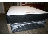 BRAND NEW - DOUBLE DIVAN BED AND MEMORY FOAM MATTRESS FREE DELIVERY