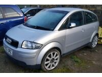 2003 Audi A2 1.4 Sport Petrol Manual Spares or Repairs