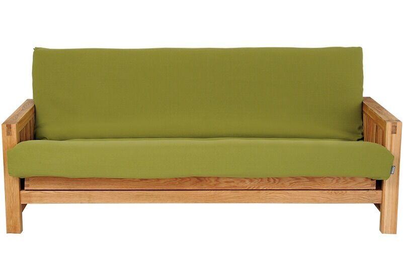 Futon Company 3 Seater Oak Sofa Bed For
