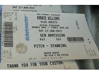 Robbie Williams Ticket