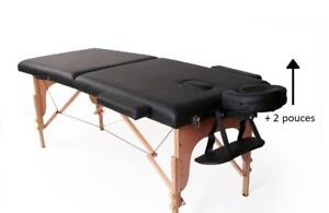 table de massage portable Confort  5 pouces