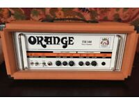 Orange TH100 with angled cab