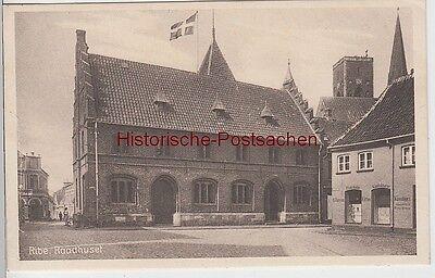 (97208) AK Ribe, Raadhuset, vor 1945
