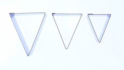Bunting Cutter set of 3 -Valley Cutter Company - Sugarcraft Cake Decorating