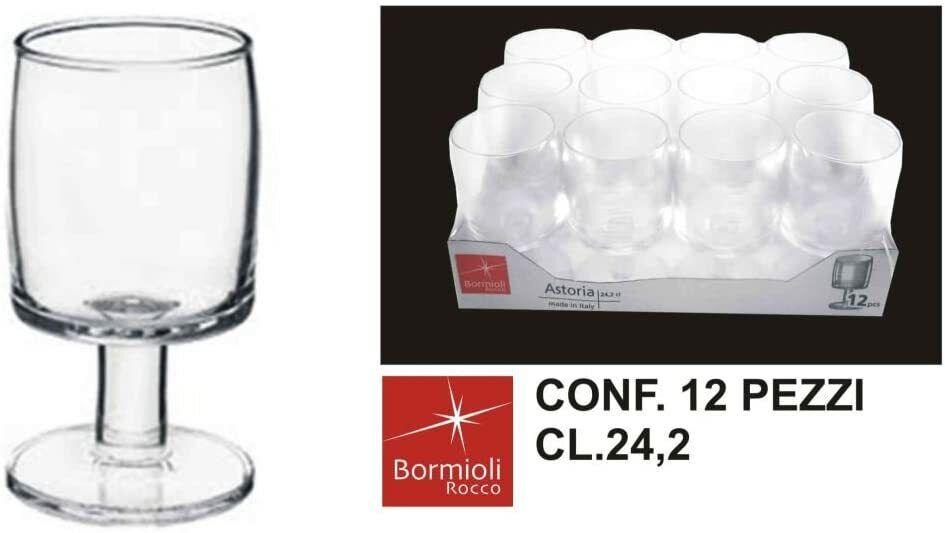 Bormioli Rocco Astoria Set 12 Calici Acqua 24,2 Cl