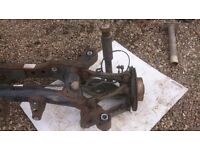 BMW 2008 model 118 TD REAR AXLE FOR SPARES