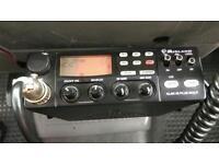 CB radio Midland Alan 48 plus multi + magnetic antenna