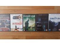 DVDs x 6 Horror thriller bundle 2
