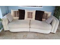 large sofa vgc splits in 2 for transportation