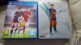 ps4 game for sale fifa 16 with steel