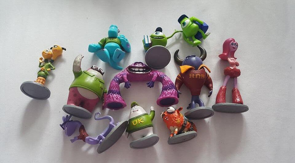 Disney Monsters University Figures