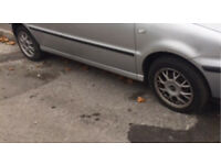 VW ALLOYS • 4 STUD • 195/50/R15 • POLO LUPO SEAT GOLF ETC