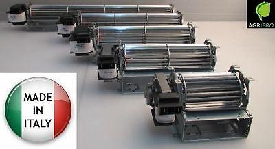 Ventilatore Tangenziale 60 MOTORE SINISTRO camino termocamino stufa a pellet