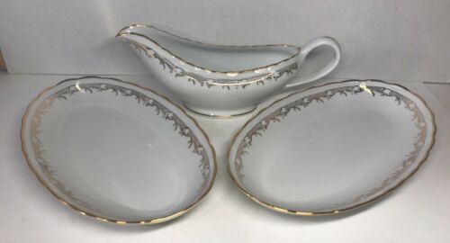 Burriere & Salsiera In Porcellana Fine Extra Bianca Firmata M & S