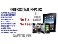 Cell Phone Repairs/iPhone/iPad/Samsung &Unlocking Mobile telephones