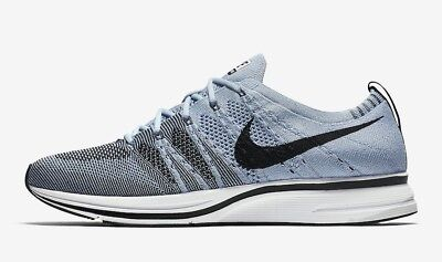 NIKE FLYKNIT TRAINER CIRRUS BLUE UK 8.5
