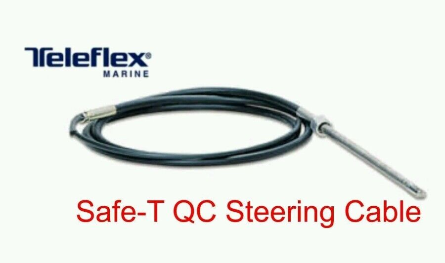 SeaStar Teleflex  SS13715 Safe-T QC Rotary 15 Foot Outboard Steering