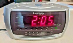 Emerson Research SmartSet Auto Setting AM/FM Alarm Clock Radio CKS3029