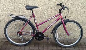 "Bike/Bicycle. LADIES PROBIKE "" VIXEN "" MOUNTAIN BIKE"