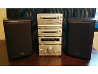 Technics mini hifi stack system good condition all working speakers amp