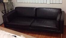 IKEA 2/3 seater brown lounge Northmead Parramatta Area Preview