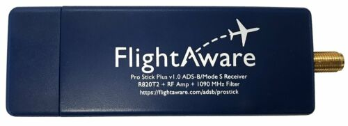 FlightAware Pro Stick Plus ADS-B USB Receiver with Built-in Filter from FlightAw