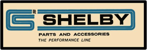 "Shelby Parts & Accessories Marquee Style Metal Sign 6""x18""  Free Shipping"