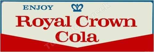 "ROYAL CROWN COLA 6"" x 18"" ALUMINUM Sign"