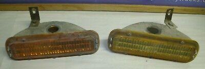 1967 1972 GMC FRONT PARKING LIGHT ASSEMBLIES TRUCK SUBURBAN JIMMY SIERRA GRANDE Front Parking Light Assembly