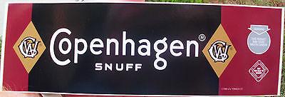 COPENHAGEN SNUFF BUMPER STICKER
