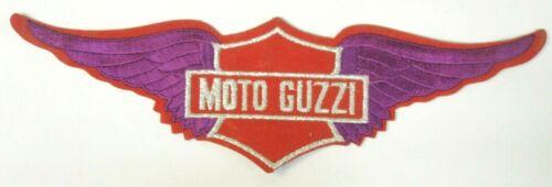 "giant MOTO GUZZI WINGS Motorcycle 12"" jacket back patch UNUSED"