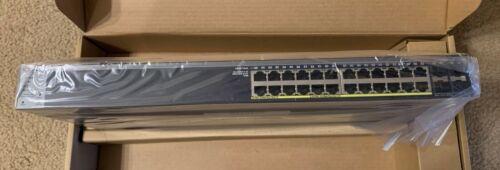 Netgear ProSafe GS728TP-100NAS 24-Port Rack-Mountable PoE Ethernet Smart Switch