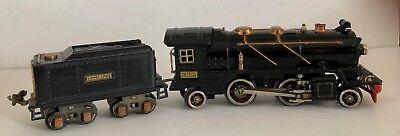 Original, Unrestored Lionel #262 Prewar O-Gauge 2-4-2 Locomotive & #262T Tender  for sale  Dolores