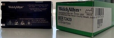 Welch Allyn 72420 7.2v Rechargeable Battery - New