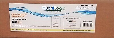 Hydrologic KDF85 Catalytic Carbon Filter 20 inch x 2 inch -