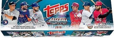 2018 Topps Baseball Retail Complete 705 Card Set - Includes Hoskins & Ohtani