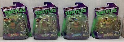 TMNT Ninja Turtles Lot Complete Set of 4 NEW 2012 Leo Raph Mikey Donnie Figures