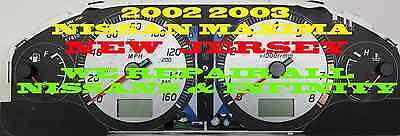2000 2004 NISSAN SENTRA INSTRUMENT CLUSTER SOFTWARE & ODOMETER CALIBRATION SERV
