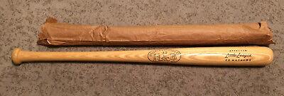 "Vtg NOS 1960-64 Eddie Mathews H&B Louisville Slugger Baseball Bat 29"" W/Paper"