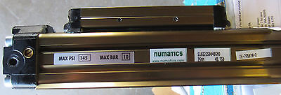 Numatics S1022250048gmo 25mm Bore Air Pneumatic Rodless Cylinder New