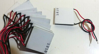 1210 Dc 12v Semiconductor Thermoelectric Peltier Cooler Heater Heatsink 10pcs