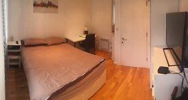 Modern Bright Room in Sociable flat in Kings Cross
