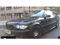BARGAIN - BMW 318CI M SPORT CONVERTIBLE RARE OXFORD GREEN ( like mercedes audi )