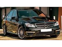 Mercedes C63 AMG 6.3 litre 502bhp sports exhaust