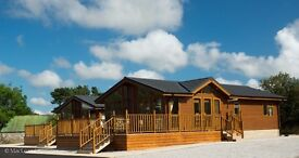 Two bedroom Chalet for rent situated 2 miles from Kemnay and 3 miles from Inverurie