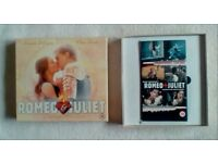 Romeo & Juliet VHS Video Set LIMITED EDITION Leonardo DiCaprio SHAKESPEARE Film PHOTO PRINT Calendar