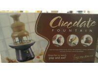 Chocolate fountain #32947 £7