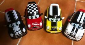 4 toy minis