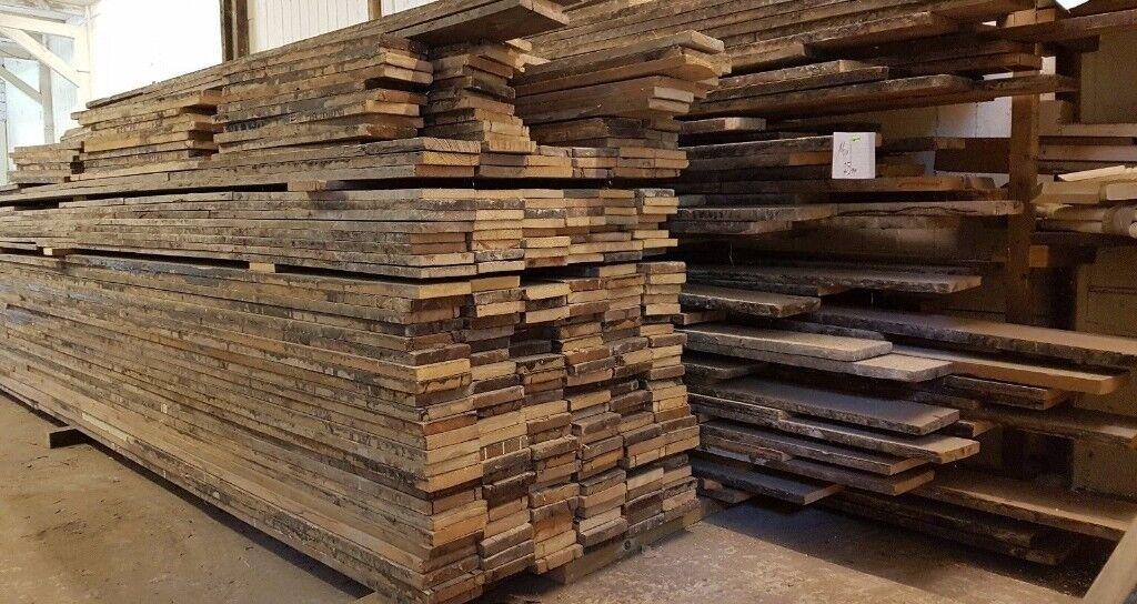 Reclaimed Floorboards In Welwyn Garden City